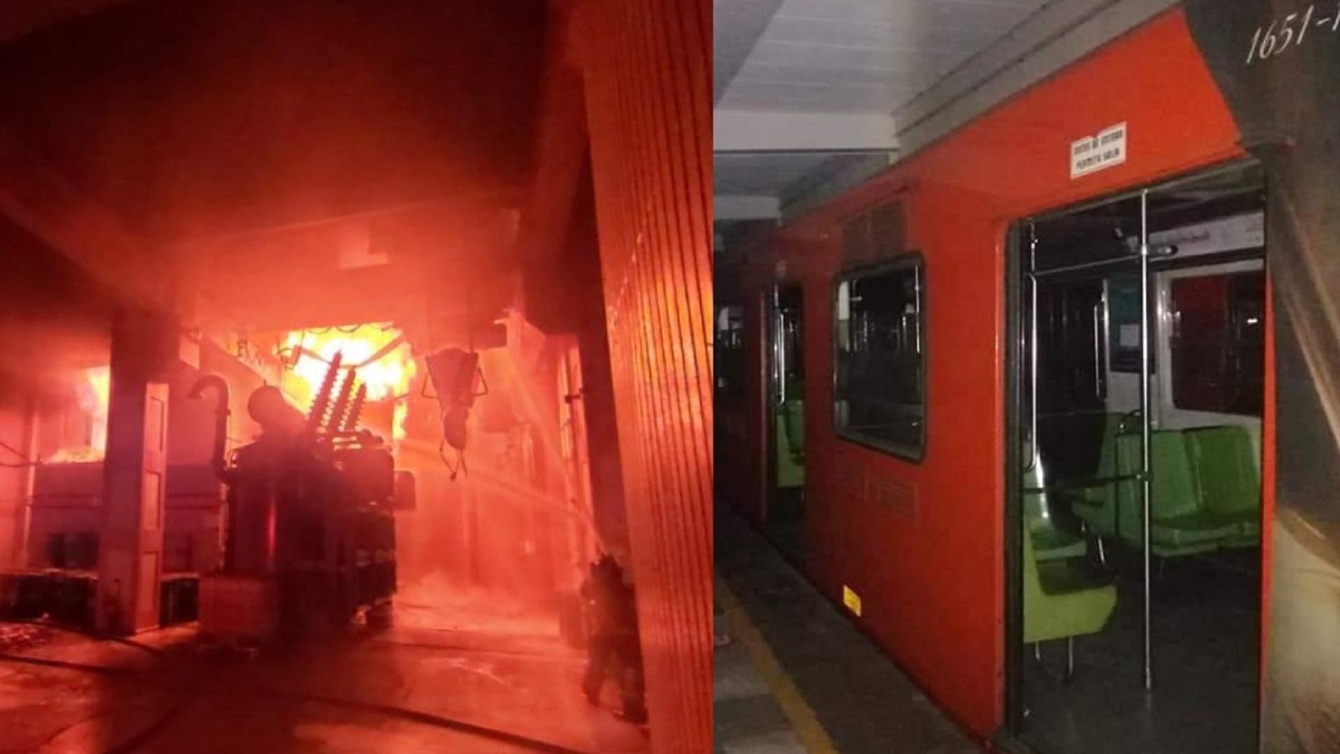 Miles siguen afectados por la Miles siguen afectados por la paralización de varias líneas del metro en Ciudad de México tras un incendio