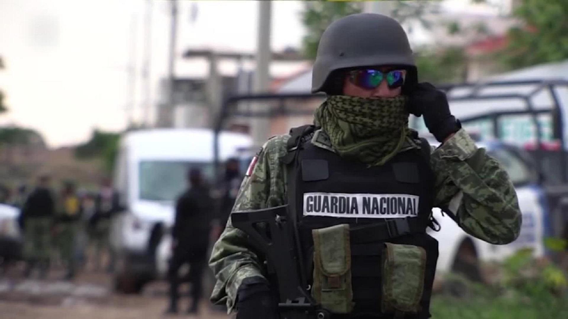 Al menos diez personas mueren en varios enfrentamientos entre hombres armados y autoridades en México